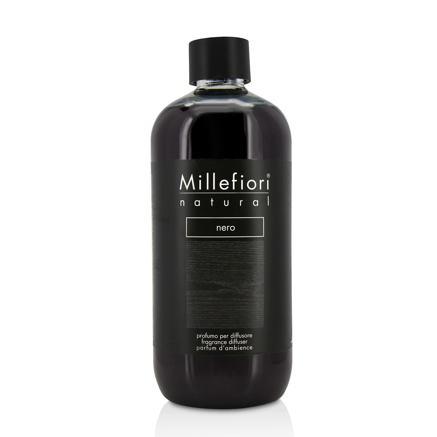 Millefiori Natural Fragrance Diffuser Refill Nero/16 9oz